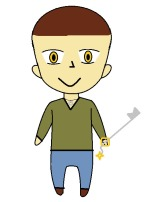 Brandon chibi upright